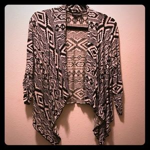 About A Girl Aztec Cardigan